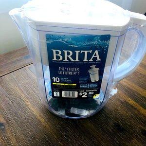 Brand New Brita 10-cup pitcher